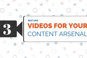 3 Must Have Videos for Your Content Arsenal